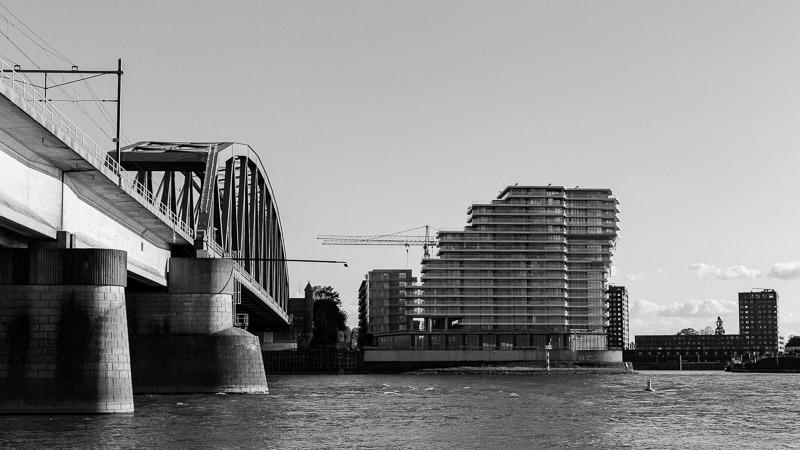 Nijmegen, spoorbrug