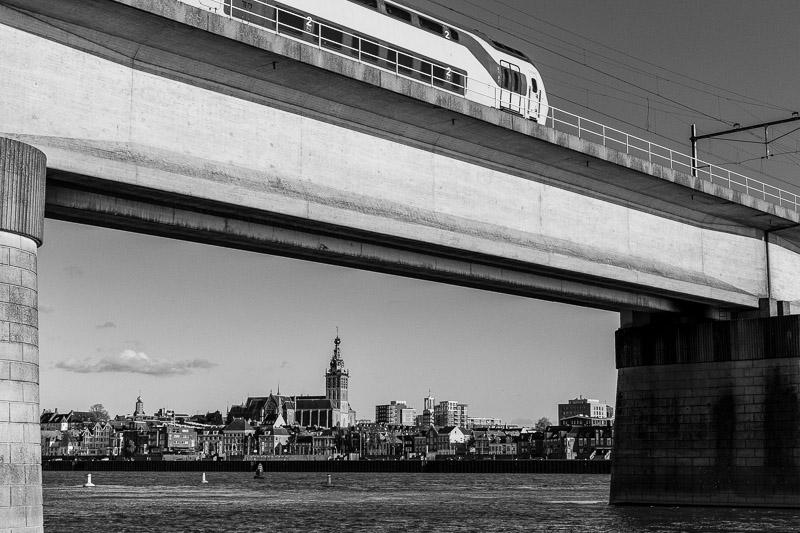 Nijmegen, trein, Stevenskerk
