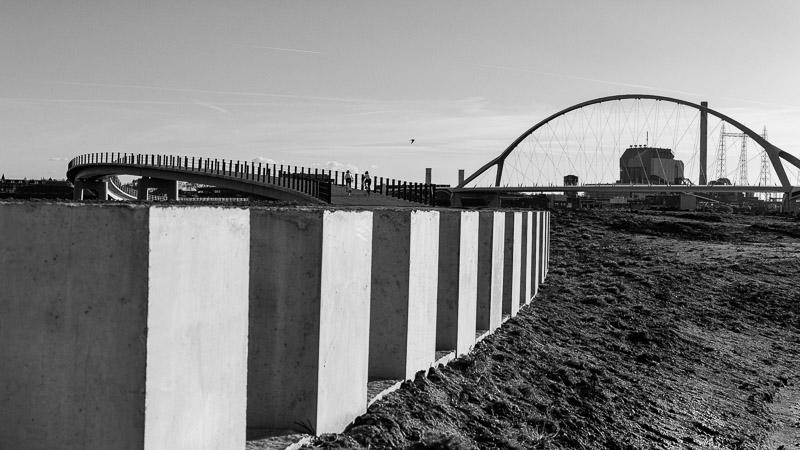 Oversteek, Nijmegen, energie centrale